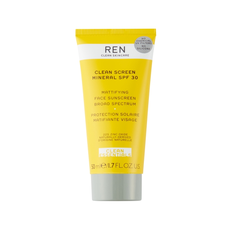 REN Clean Screen Mineral SPF30 Mattifying Face Sunscreen Broad Spectrum, £32