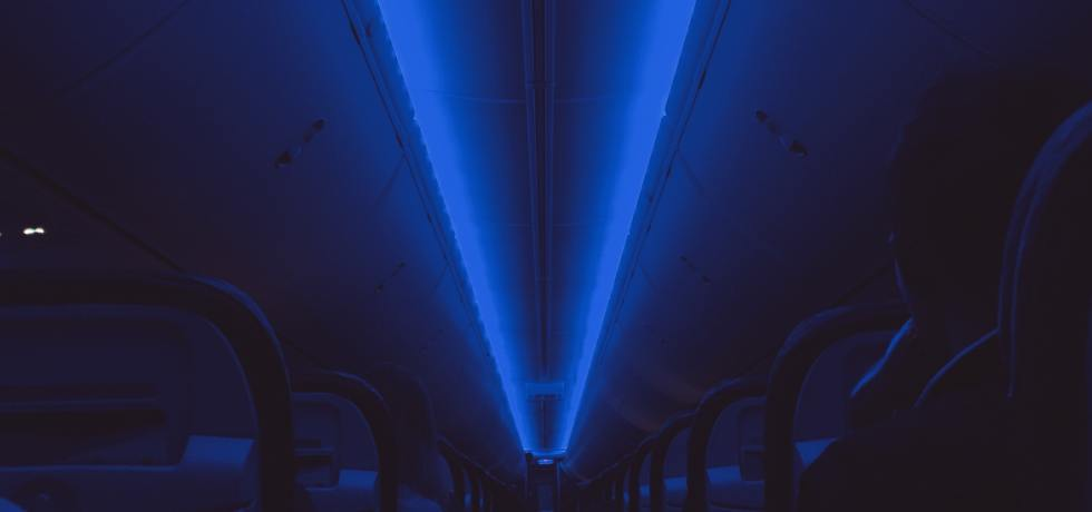 Effect of blue light