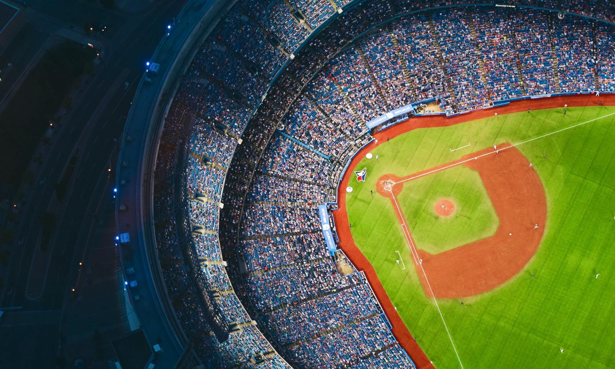 stadium aerial image